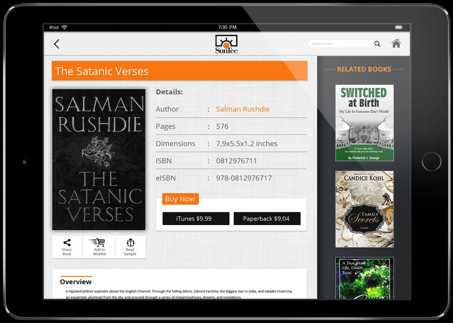 eBook Catalog App for Publishers by SunTec Digital